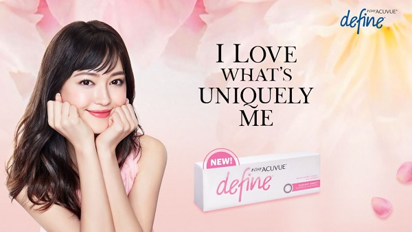 1-Day Acuvue Define Radiant Sweet Contact lenses