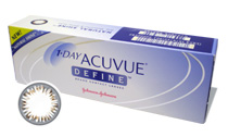 1-Day Acuvue Define Natural Shine cosmetic lens