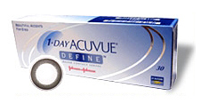 1-Day Acuvue Define Accent cosmetic Lens