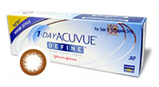 1-Day Acuvue Define Vivid cosmetic lens