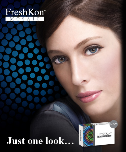 FreshKon Mosaic Cosmetic Color contact lens