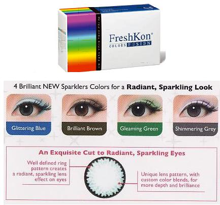 FreshKon Colors Fusion - 6 box Package OFFER