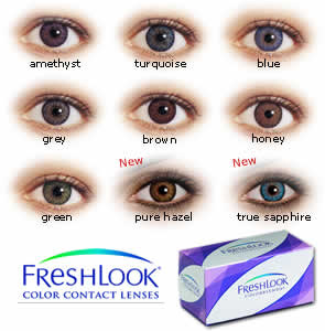 Color contact lens - Freshlook ColorBlends