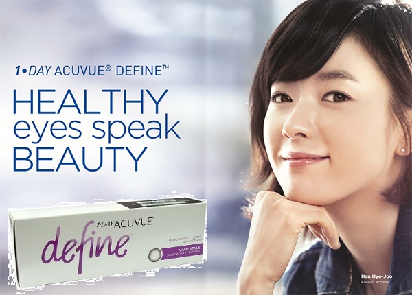 1-Day Acuvue Define Vivid Contact lenses