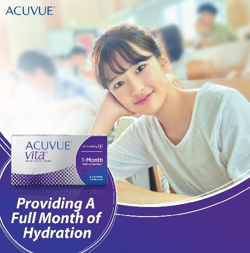 Acuvue Vita Brand contact lenses