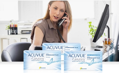 Acuvue Oasys Hydraclear plus Contact lens