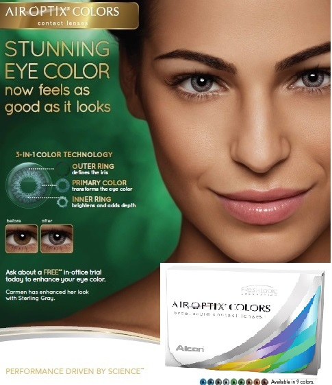 Air Optix Colors - Color contact Lens by Alcon