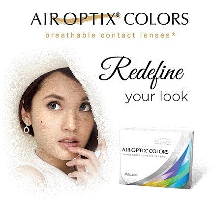 Air Optix Colors Contact Lenses by Alcon
