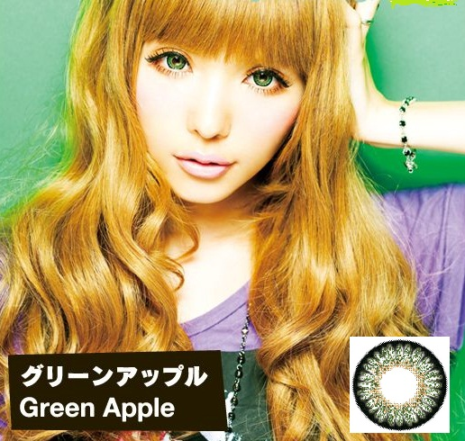 GEO Princess Mimi/Bambi Apple Green Lens
