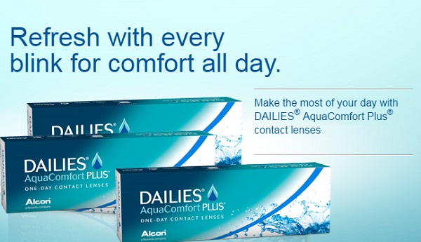 Dailies With AquaComfort Plus by Alcon
