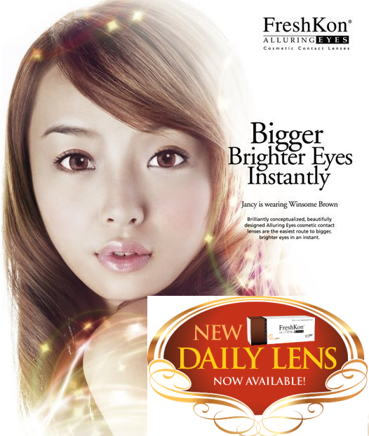 FreshKon Alluring Eyes 1 Day