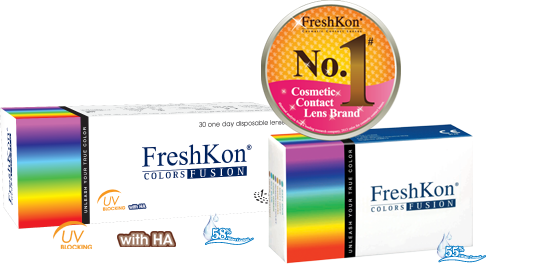 Freshkon Color Fusion - 4 Boxes package Offer