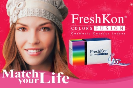 FreshKon Colors Fusion colors contact lens