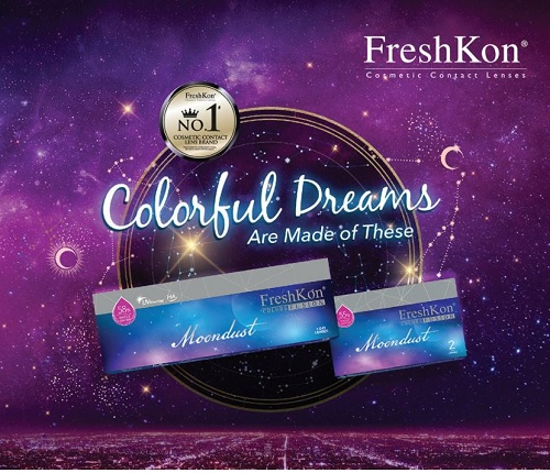 FreshKon Colors Fusion Moondust 1 Day 10 lens per box
