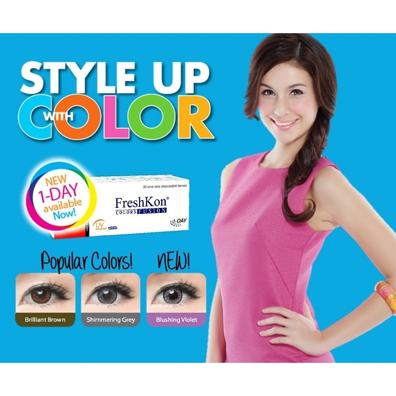 FreshKon Colors Fusion 1 Day color Contact lens