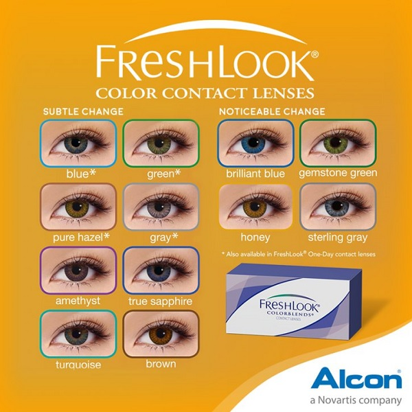 Freshlook Colorblends Color Contact Lens
