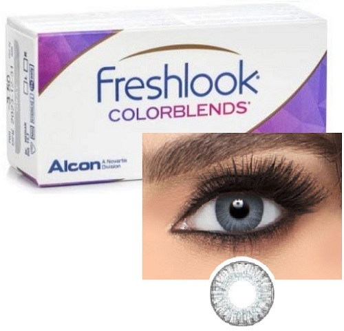 Freshlook ColorBlends Sterling Gray / Gray colors