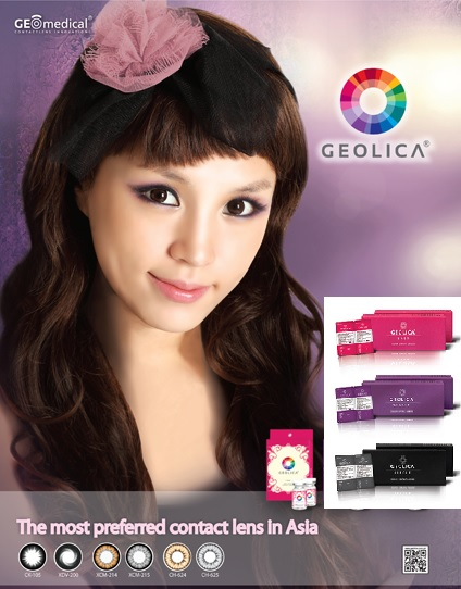 GEO GEOLICA Color Circle lens Series