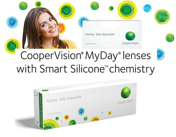 MyDay Disposable contact lenses