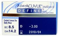 1 Day Acuvue Define Accent