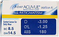 1 Day Acuvue for Astimagtism