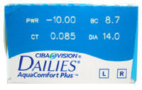 Focus Dailies with Aqua Comfort Plus