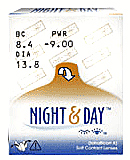 Focus Night and Day ( Air optix Night & Day )