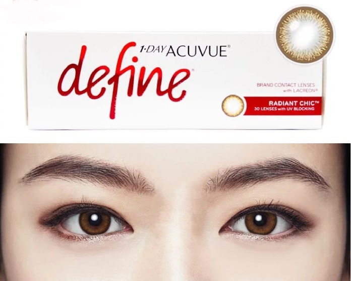 ce614af62d2 ACUVUE® DEFINE® lenses also boost ACUVUE®  s proprietary LACREON™  technology that promises a 20-hour cushion of moisture
