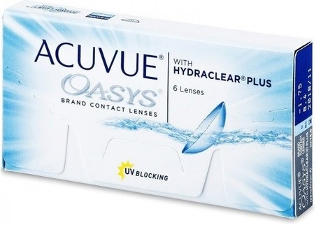 Buy Acuvue Oasys Hydraclear Plus Contact Lenses Online